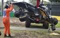 マクラーレン・ホンダのアロンソが大クラッシュ、オーストラリアGP