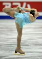 中野友加里 世界フィギュア女子SPで3位