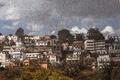 マダガスカル首都を覆う黒雲、イナゴの大群襲来