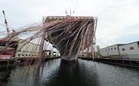 海上自衛隊最大の艦艇「いずも」が進水