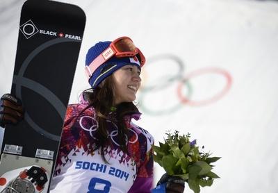 竹内智香が女子パラレル大回転で銀メダル、ソチ五輪