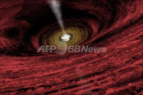 太陽の170億倍、超大質量ブラックホールを発見 観測史上最大か