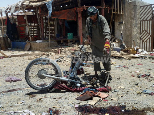 アフガンで連続自爆攻撃、23人死亡 タリバンが犯行声明