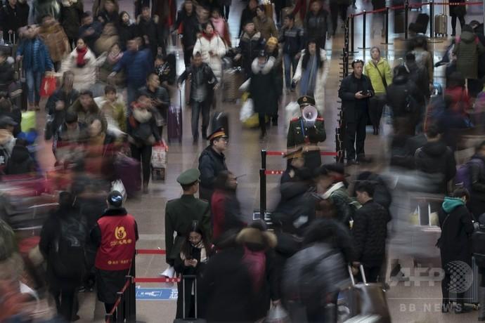 春節で帰省の出稼ぎ労働者、片道切符の人も 北京に戻る場所少なく