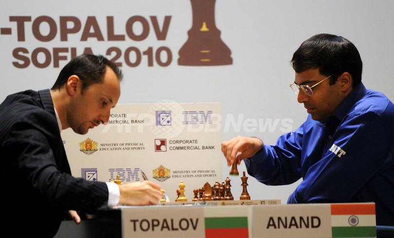 チェス世界選手権、インドのアー...
