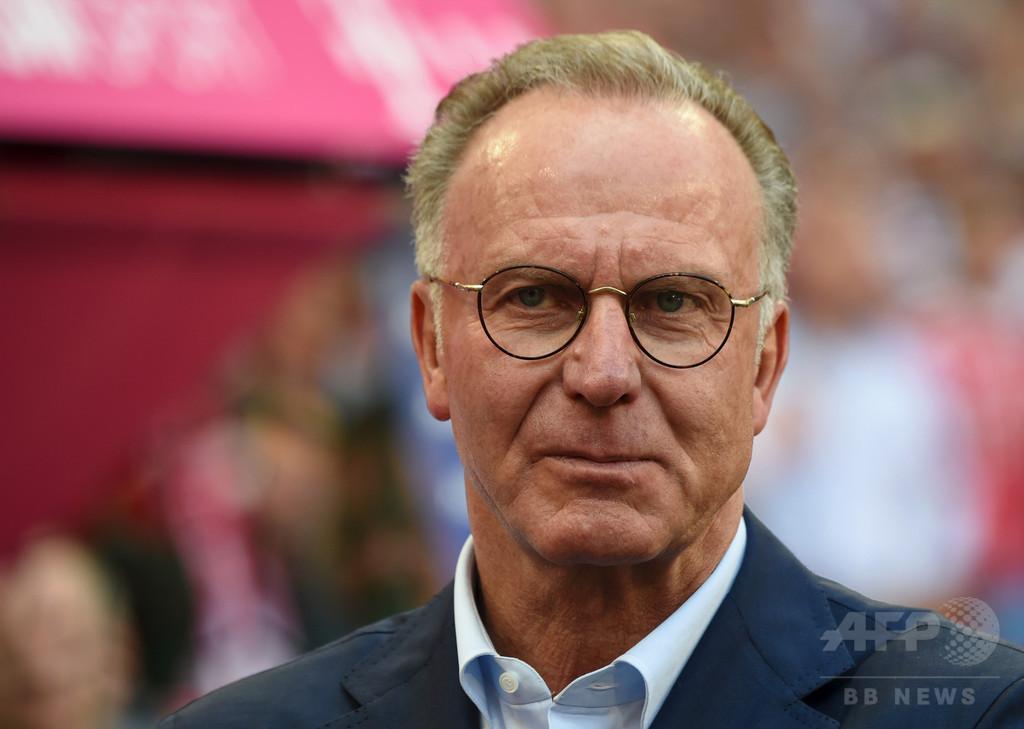 バイエルン社長、独サッカー連盟は「素人の集まり」 W杯惨敗で批判