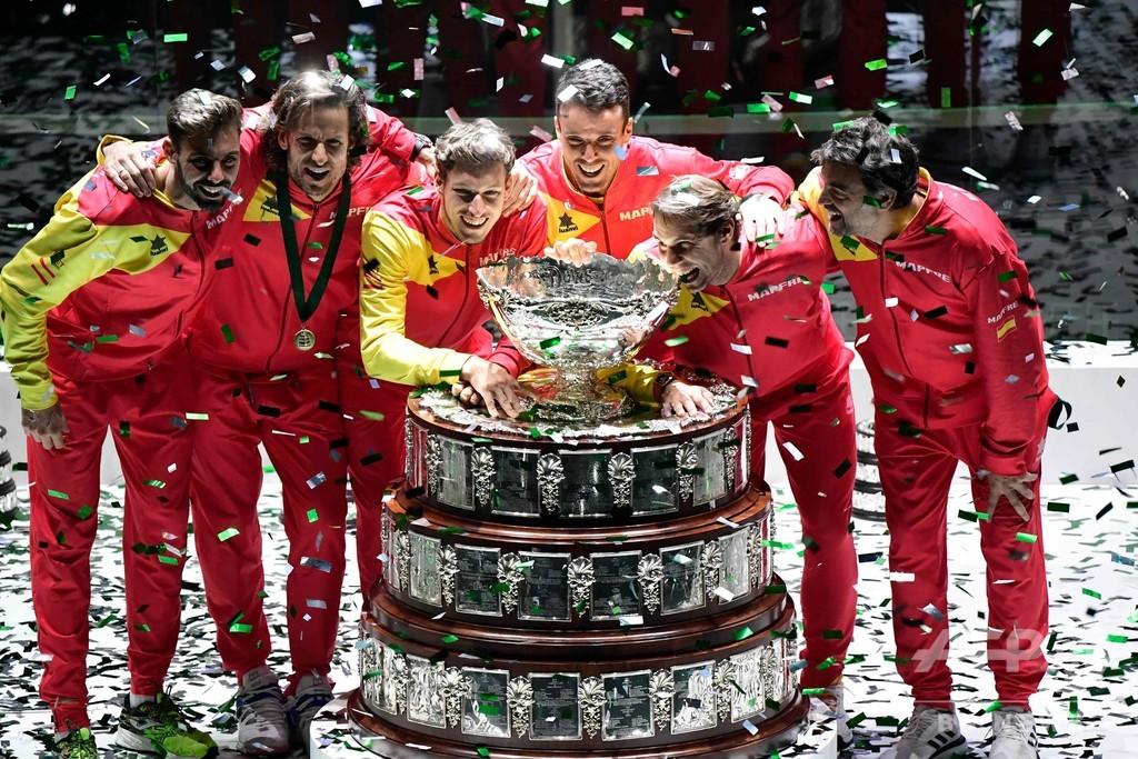 スペインがデビスカップ6度目V、ナダルは圧巻シーズンの有終飾る