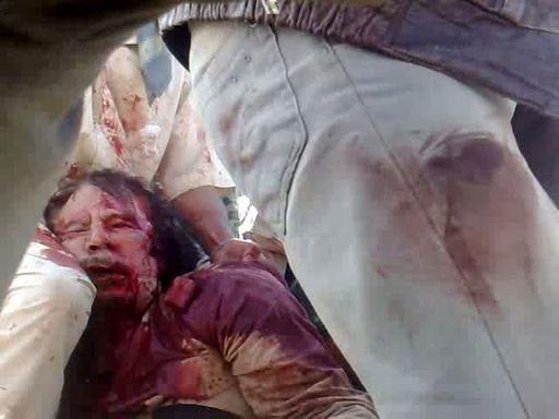 リビア国民評議会、カダフィ大佐の死亡を発表
