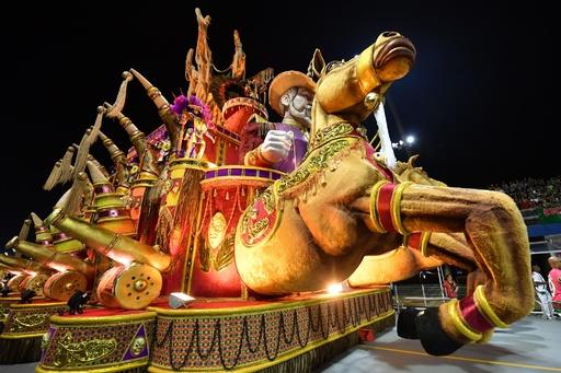 ブラジル・サンパウロのカーニバル、今年も開幕