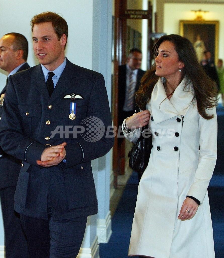 英ウィリアム王子と恋人の写真、あわや流出 英警察が男1人を逮捕