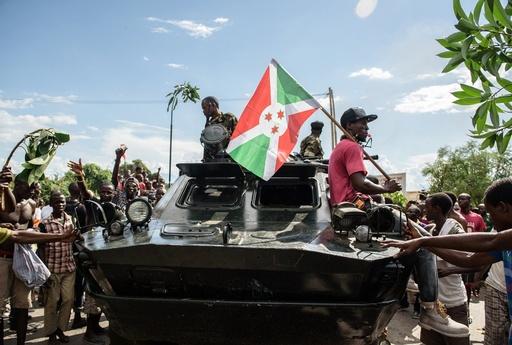 ブルンジで軍高官がクーデターか、大統領追放を宣言
