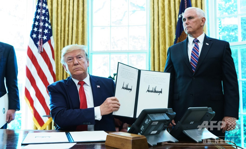 米、イランに追加制裁 最高指導者ハメネイ師ら対象