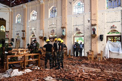 スリランカ連続爆発、米大使が事前の情報提供否定
