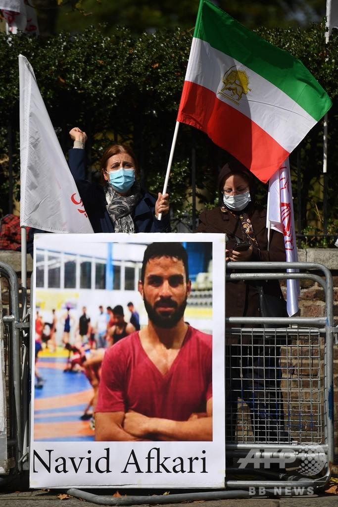 イランがレスリング選手の死刑執行、国外にショックと怒り広がる