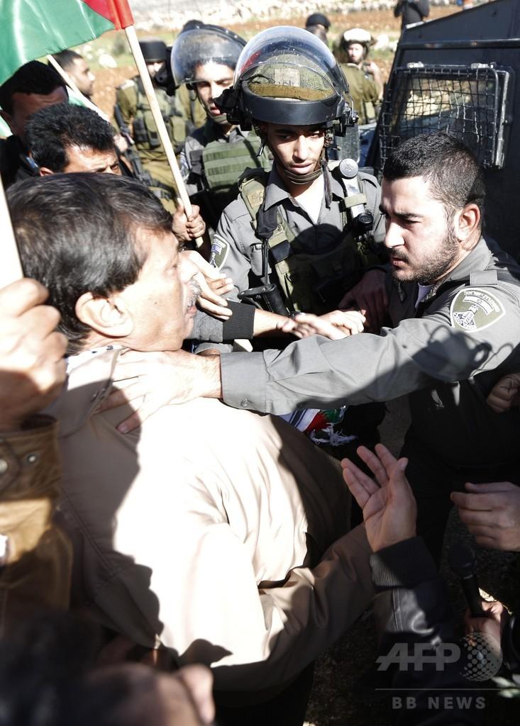 パレスチナ高官、イスラエル兵の暴行受け死亡