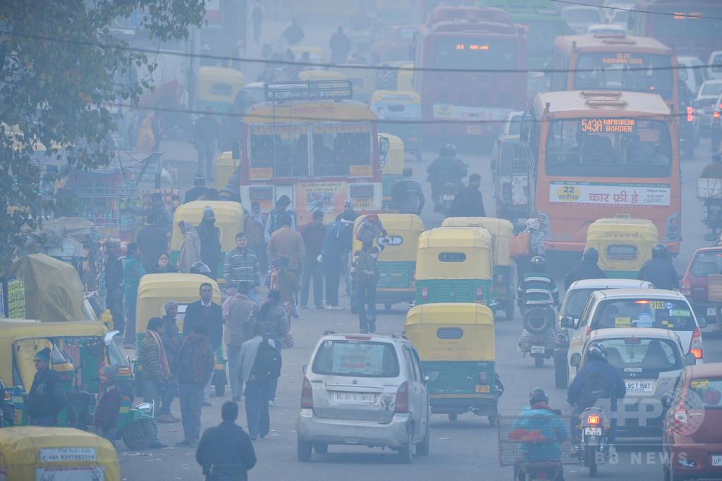 世界の全人口の90%が大気汚染下に、WHO