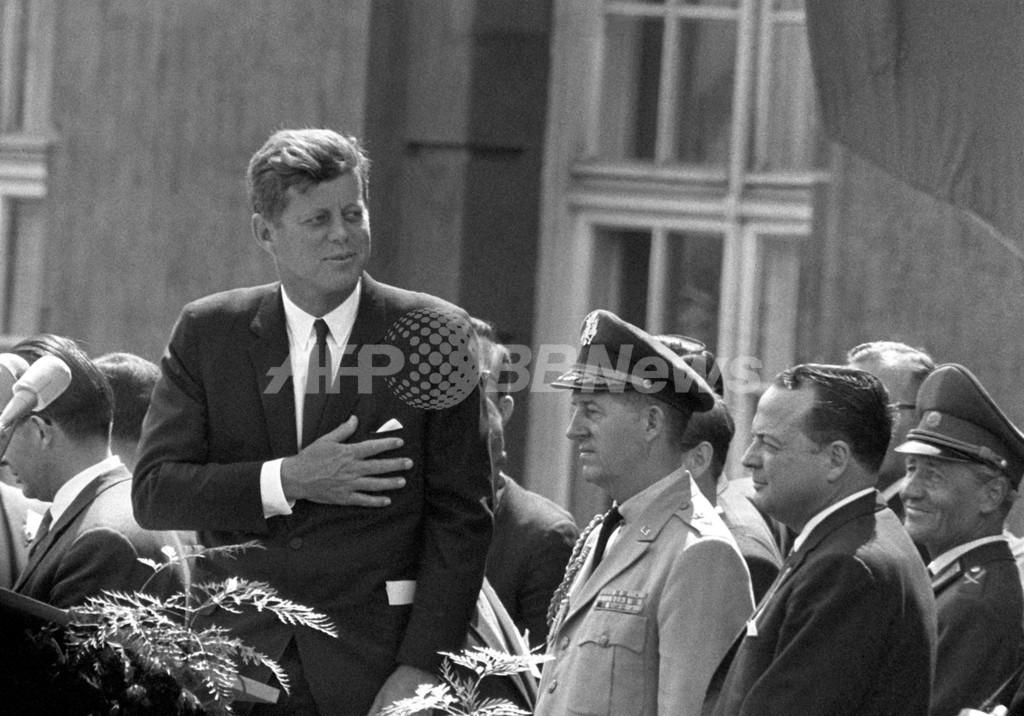 ベルリン演説から50年、ケネディ大統領は「私はドーナツ」と言ったのか