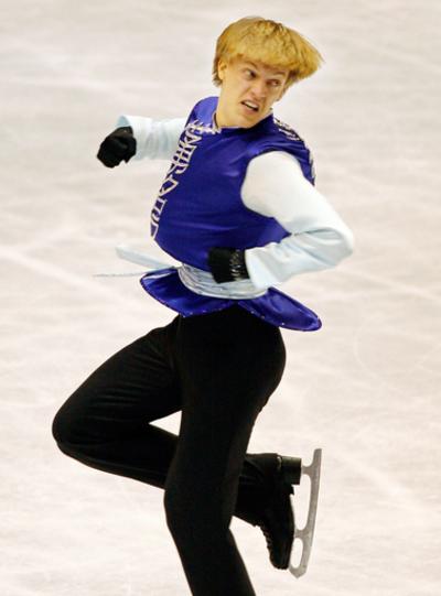 トマシュ・ベルネル NHK杯総合2位に輝く
