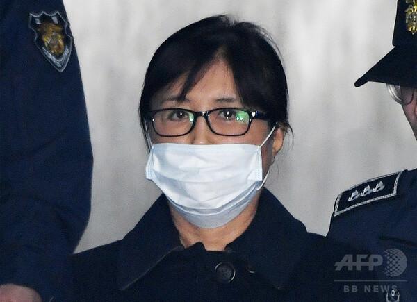崔順実被告に懲役20年の判決、ソウル地裁