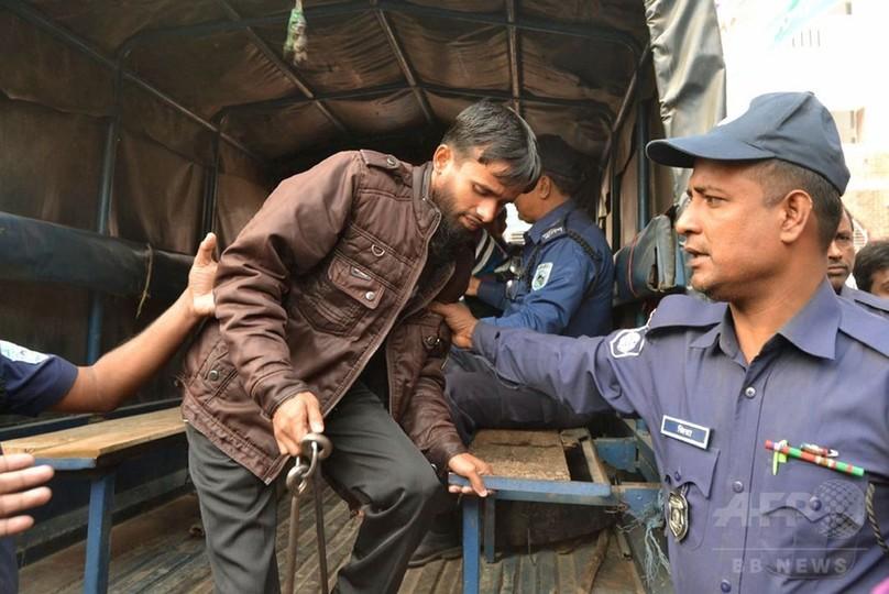 バングラデシュ邦人殺害、イスラム過激派の被告5人に死刑判決