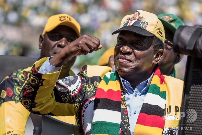 ジンバブエ大統領選、現職が当選 最大野党は認めず 提訴の構え
