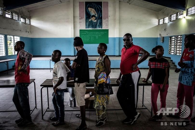 コンゴ大統領選、カトリック教会が結果公表を強く要求