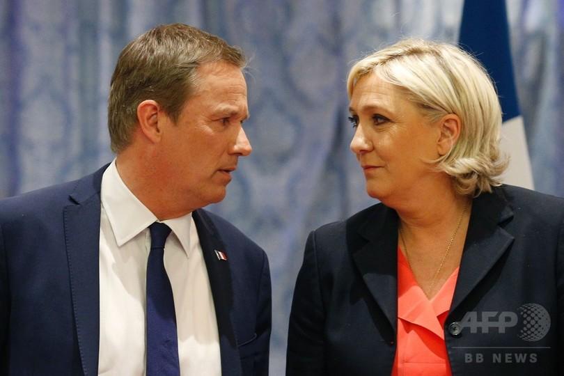 仏大統領選ルペン氏、首相候補に...