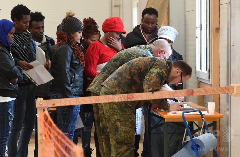 ドイツへの難民流入、16年は前年の3分の1 抑制策が奏功