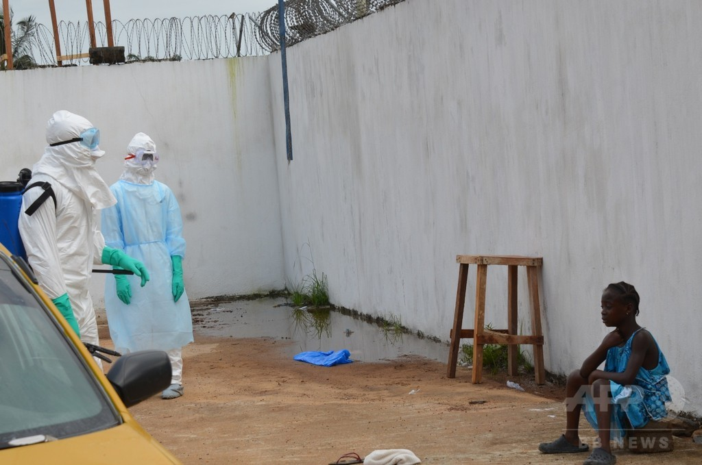 IMF、エボラ禍の西アフリカ3か国に緊急援助 総額142億円