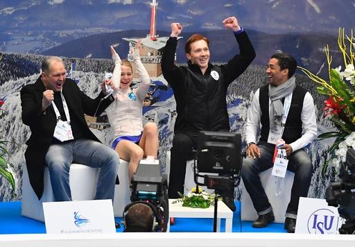 タラソワ/モロゾフ組がペアで大会初制覇、フィギュア欧州選手権