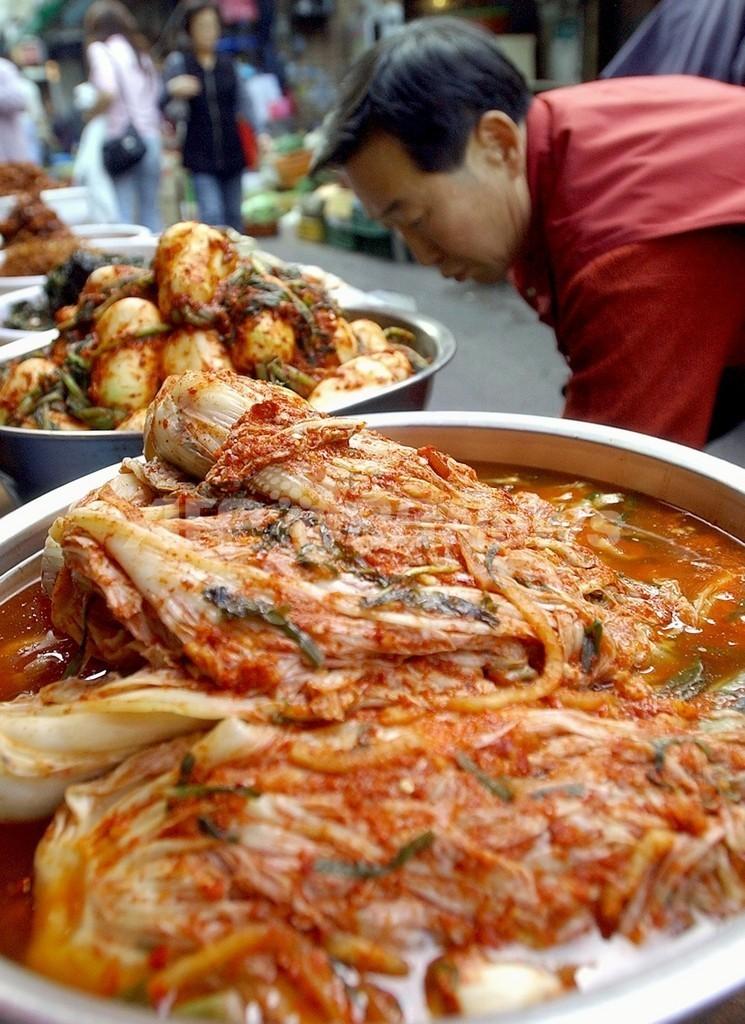 韓国人女性の65%がキムチの作り方を知らない、調査結果