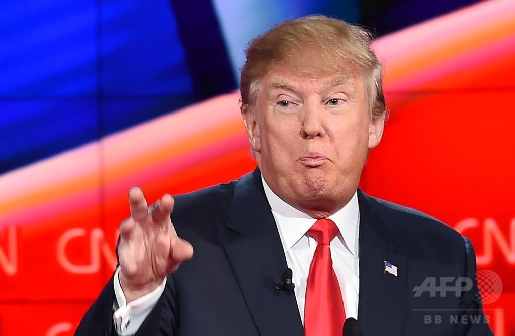 トランプ氏がクリントン氏に暴言、性差別と非難集中