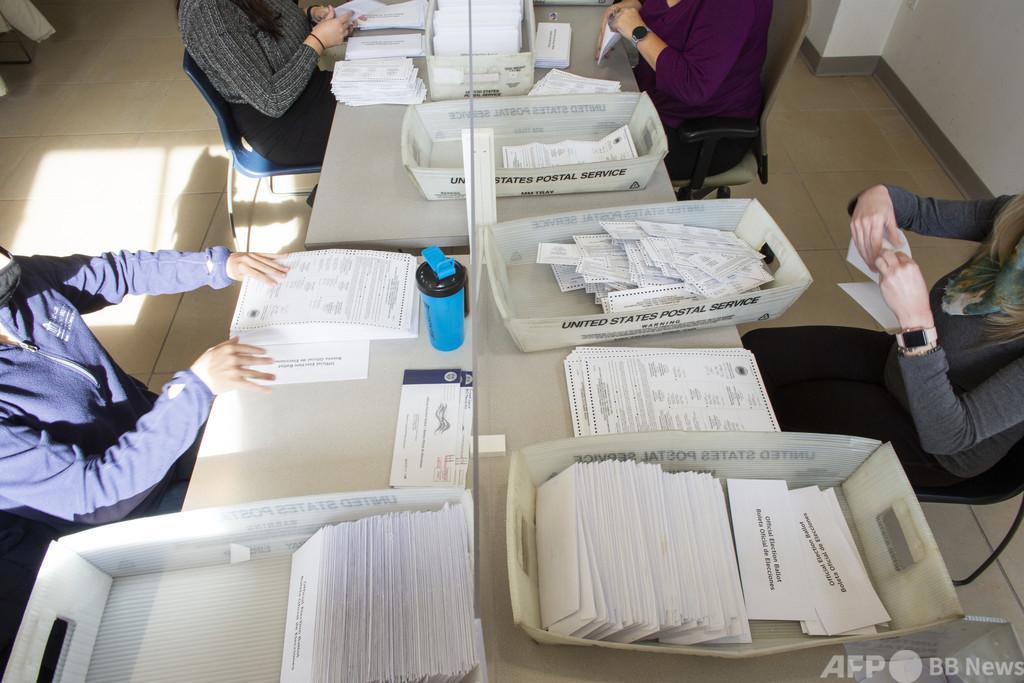 【検証】トランプ氏の「多数の票が削除された」という主張は誤り