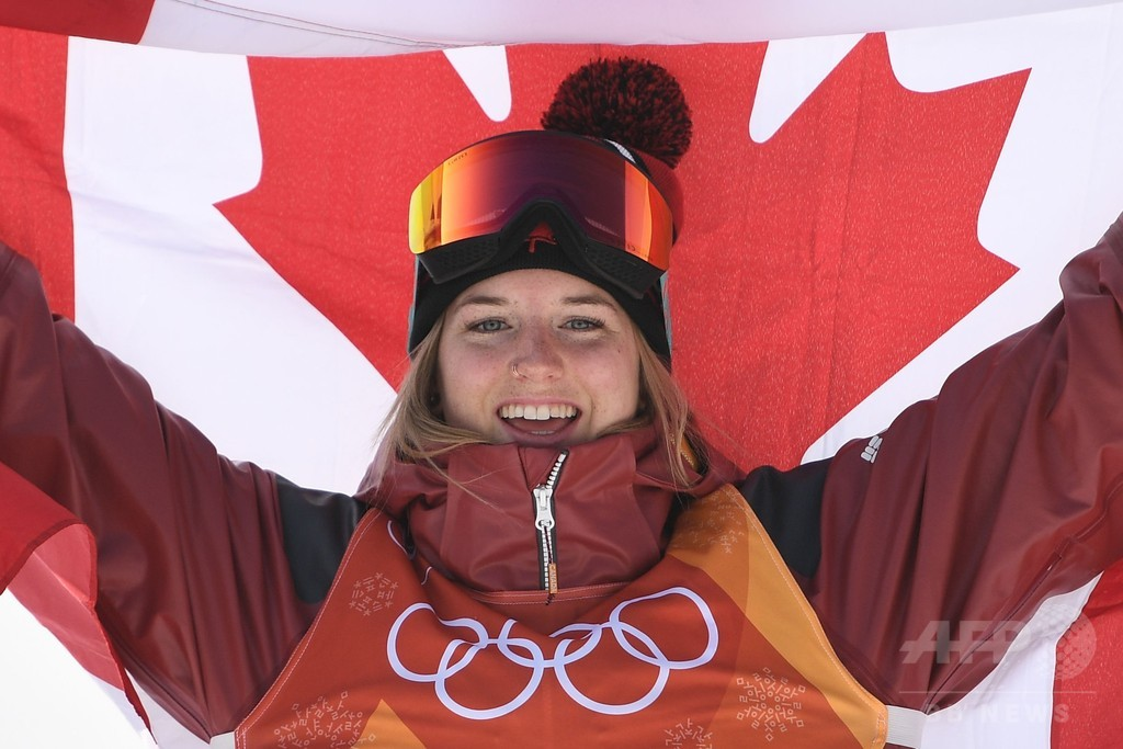 カナダのシャープがスキー女子HPで金メダル、平昌五輪
