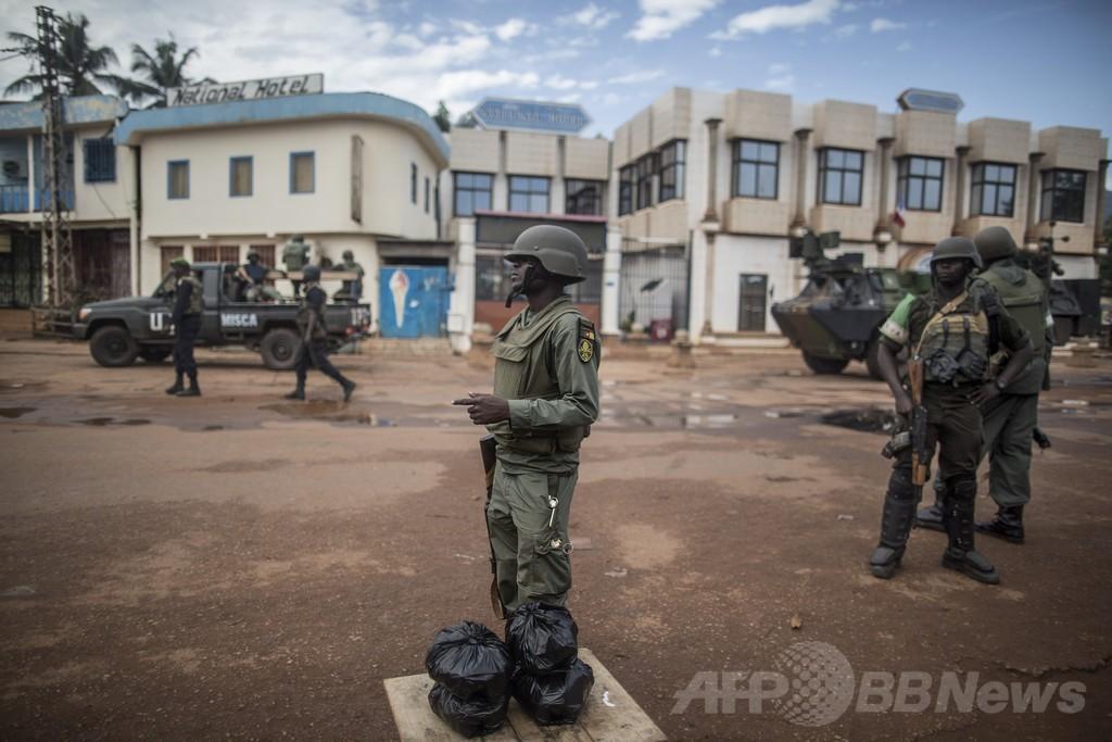 中央アフリカでデモ参加者3人が死亡