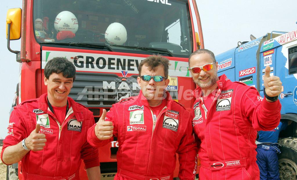 <ダカールラリー2007>ステイシー 第15ステージを終えて初の総合優勝を果たす - セネガル