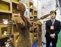 「世界一弱い」目指したダンボールロボ、国際次世代ロボットフェア