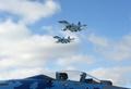 ウクライナで訓練飛行中のスホイ27墜落、操縦士が死亡