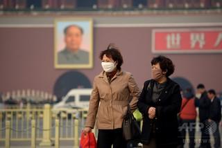 中国、CO2削減で9万4000人の早死救える 米研究