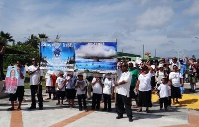 ビキニ水爆実験から60年、「米政府は対応を」 マーシャル諸島