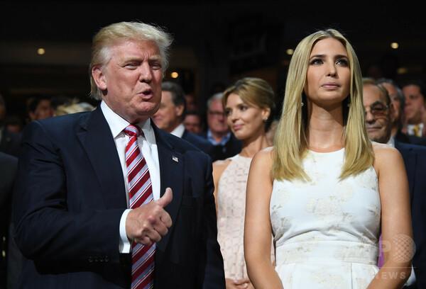 【写真特集】米大統領選制したトランプ氏の長女、イヴァンカ