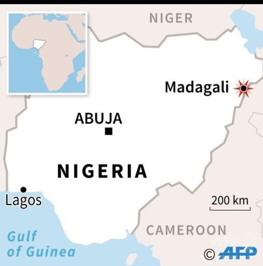ナイジェリア北東部の市場で自爆攻撃、45人死亡