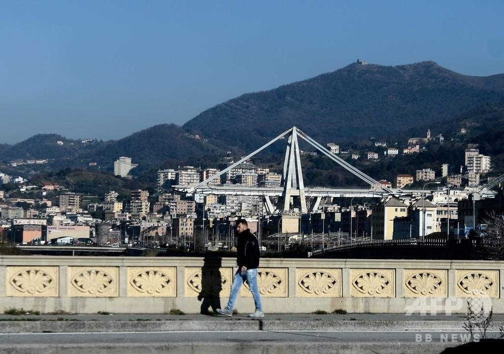 崩落のジェノバ高架橋、レンゾ・ピアノ氏設計で架け替え 「1千年持つ橋に」