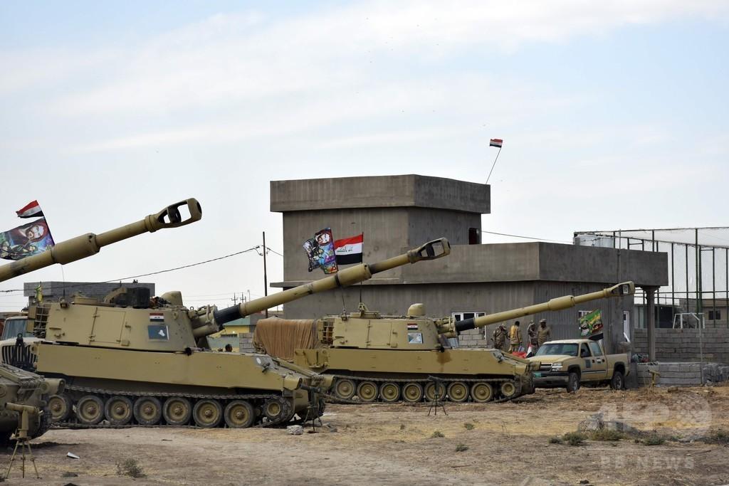 イラク軍、クルド人勢力の軍事拠点奪還 クルド側は抵抗せず撤退