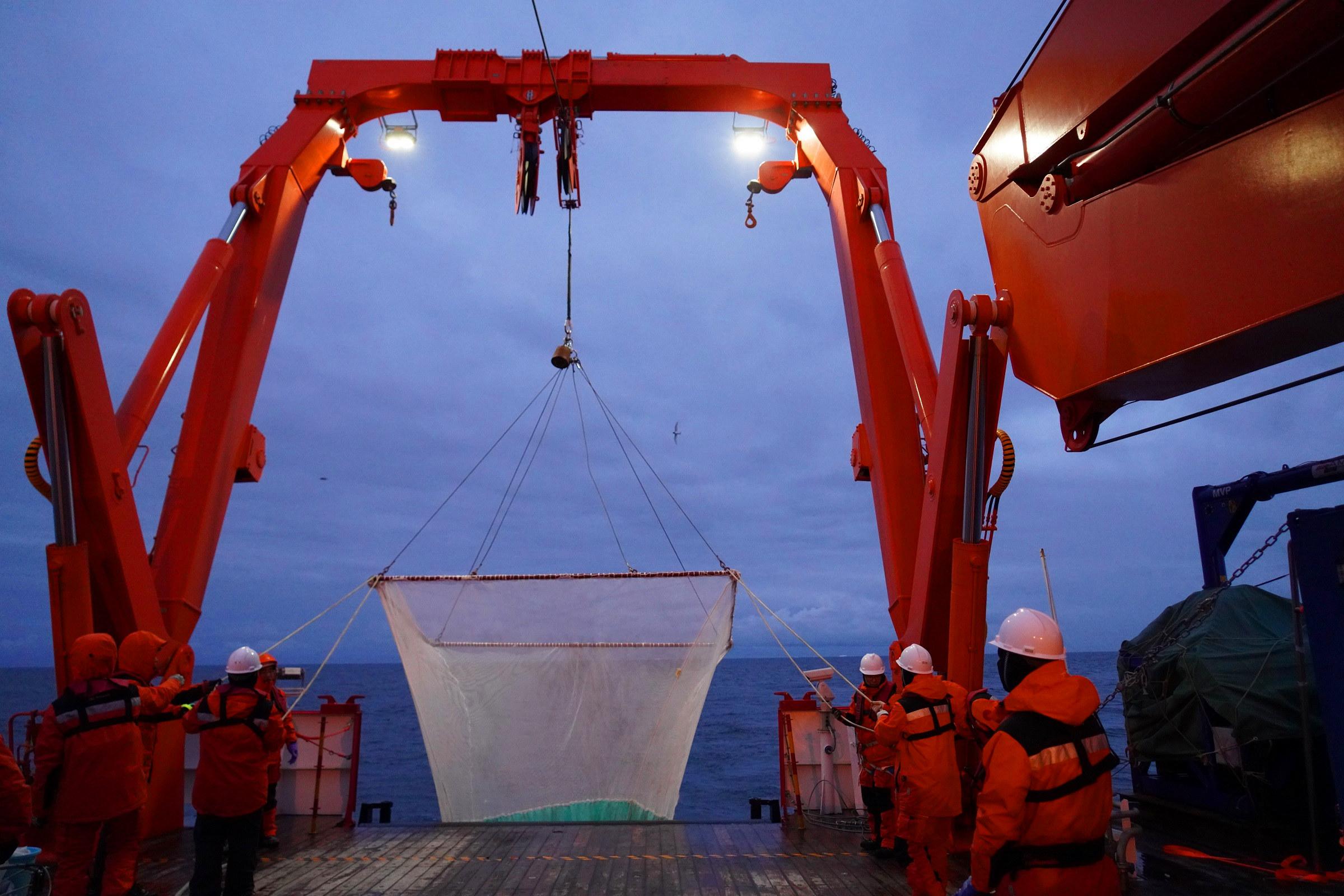 中国南極科学観測隊、コスモノート海で初の総合観測を実施