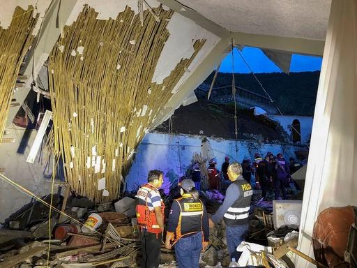 ペルーで土砂崩れ、ホテルが被災 結婚式出席者ら49人死傷