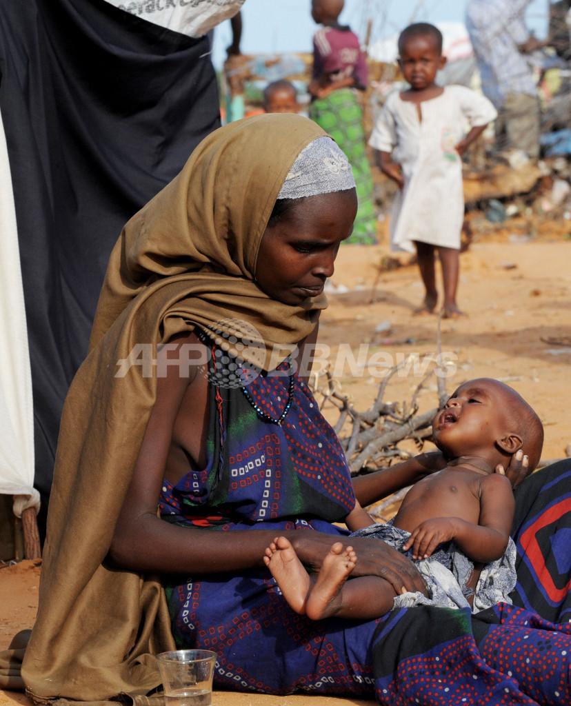 ソマリアでコレラ流行の恐れ、資金不足で食糧援助も制約 「アフリカの角」飢餓