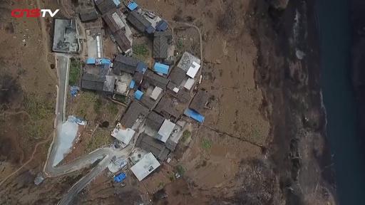 動画:四川の「絶壁の村」に念願のロープウェイ 以前は徒歩で絶壁上り下り
