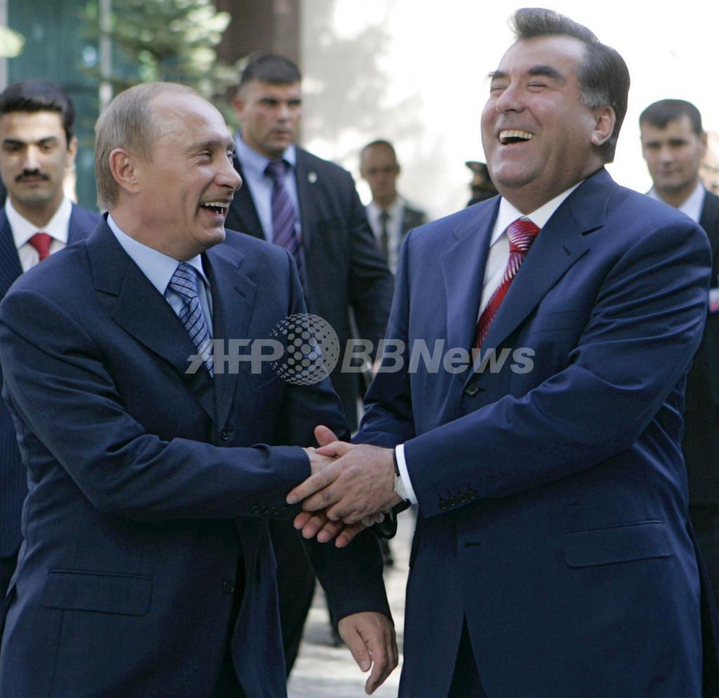 独立国家共同体の首脳会議 タジキスタンで開催