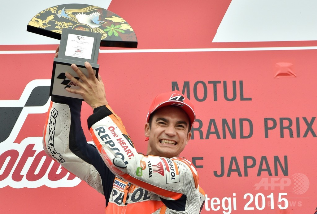 ペドロサが逆転で今季初優勝を飾る、日本GP
